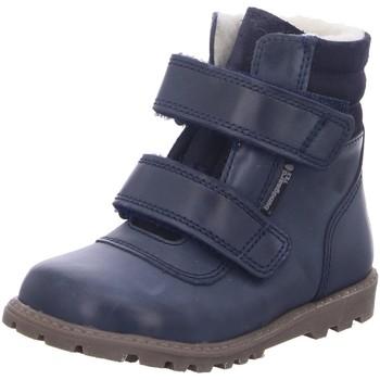 Schuhe Jungen Babyschuhe Bundgaard Klettstiefel Stiefel 303179G NOAH 519 blau