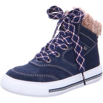 Schuhe Mädchen Stiefel Lurchi Schnuerstiefel Jacks 33-55001-22 blau