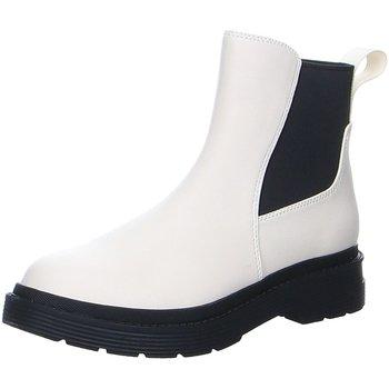 Schuhe Damen Stiefel La Strada Stiefeletten  2003204-1005 off-white weiß