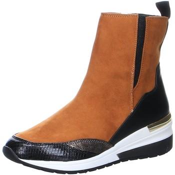 Schuhe Damen Stiefel La Strada Stiefeletten brown 200.3104-2226 braun