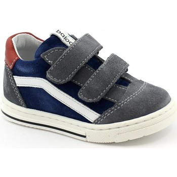 Schuhe Kinder Sneaker Low Balocchi BAL-I21-613211-BL-a Blu