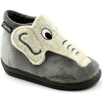 Schuhe Kinder Hausschuhe Cienta CIE-CCC-132045-24 Grigio
