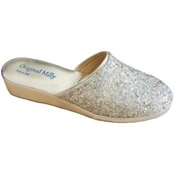 Schuhe Damen Hausschuhe Milly MILLY6200arg grigio