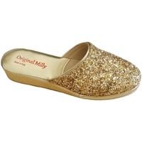 Schuhe Damen Hausschuhe Milly MILLY6200oro grigio