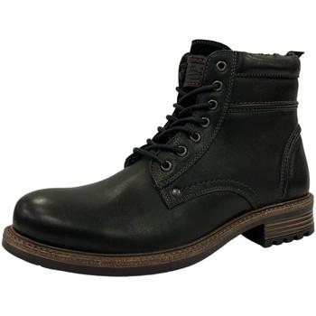 Schuhe Herren Stiefel Diverse -Schnürstiefel,black/black 1032098 schwarz