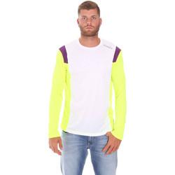 Kleidung Herren Langarmshirts Diadora 102175720 Weiß
