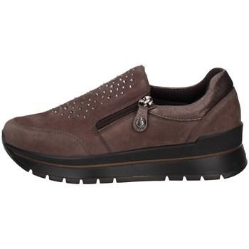 Schuhe Damen Slip on Imac 807800 Braun