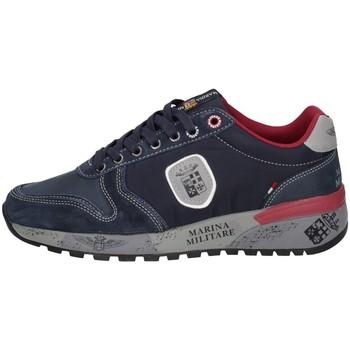 Schuhe Herren Sneaker Low Marina Militare MM2273 Blau