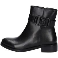 Schuhe Damen Ankle Boots Laura Biagiotti 7044 Schwarz