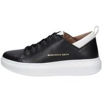 Schuhe Herren Sneaker Low Alexander Smith W110181 Schwarz