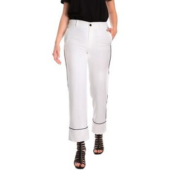 Kleidung Damen Chinohosen Denny Rose 811DD20006 Weiß