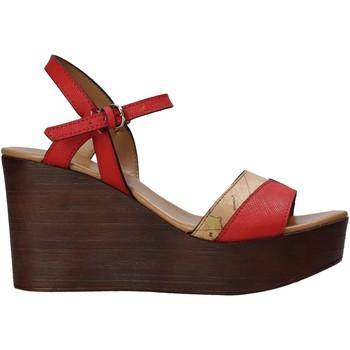Schuhe Damen Sandalen / Sandaletten Alviero Martini E102 422A Rot