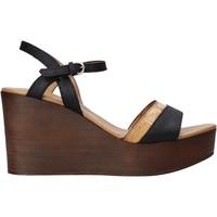 Schuhe Damen Sandalen / Sandaletten Alviero Martini E102 422A Schwarz