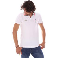 Kleidung Herren Polohemden Ea7 Emporio Armani 277017 6P907 Weiß