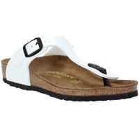 Schuhe Kinder Sandalen / Sandaletten Birkenstock 846163 Weiß