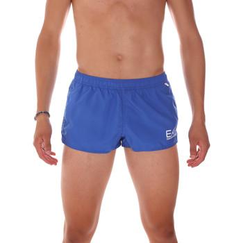 Kleidung Herren Badeanzug /Badeshorts Ea7 Emporio Armani 902008 7P731 Blau