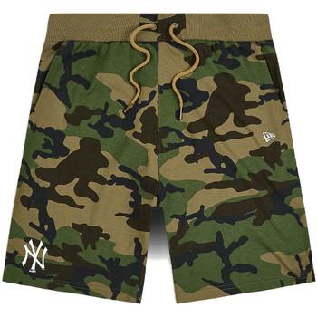 Kleidung Herren Shorts / Bermudas New-Era 12483685 Grün