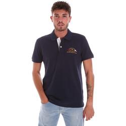 Kleidung Herren Polohemden Key Up 2G96Q 0001 Blau