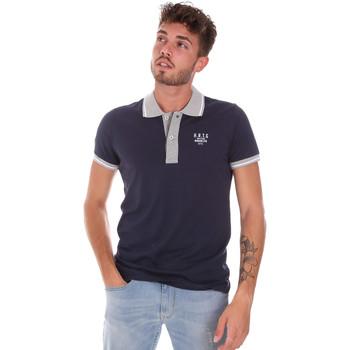 Kleidung Herren Polohemden Key Up 2G87R 0001 Blau