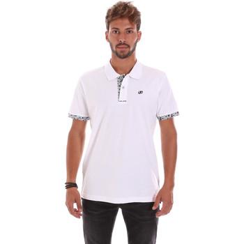 Kleidung Herren Polohemden Key Up 2R53G 0001 Weiß