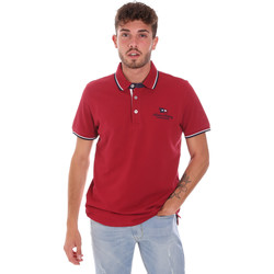 Kleidung Herren Polohemden Key Up 2Q60G 0001 Rot