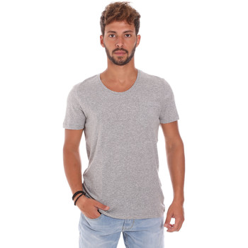 Kleidung Herren T-Shirts Antony Morato MMKS01003 FA100092 Grau