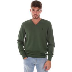 Kleidung Herren Pullover U.S Polo Assn. 38346 50357 Grün