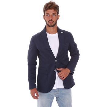 Kleidung Herren Jacken / Blazers Sei3sei PZG8 7149 Blau