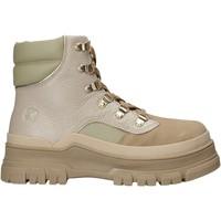 Schuhe Damen Boots Apepazza F1SALLY10/TEX Beige