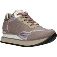 Schuhe Damen Sneaker Low Apepazza F1MIDHIGH07/LEA Braun