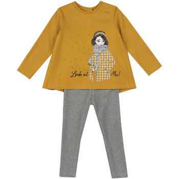 Kleidung Kinder Kleider & Outfits Chicco 09073723000000 Gelb