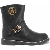 Schuhe Mädchen Klassische Stiefel Patrizia Pepe PPJ588 Schwarz