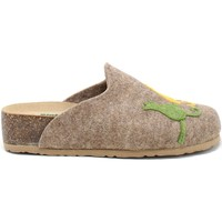 Schuhe Damen Hausschuhe Bionatura 12BLMOO-I-FELC65 Braun