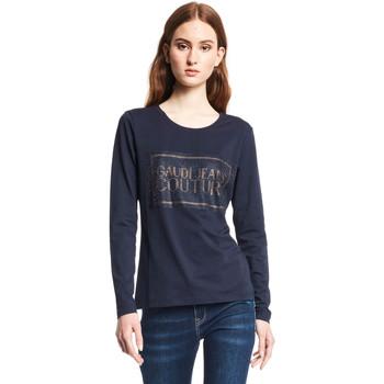 Kleidung Damen Langarmshirts Gaudi 121BD64059 Blau