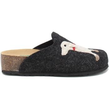 Schuhe Damen Hausschuhe Bionatura 12ARGO-I-FELA118 Schwarz