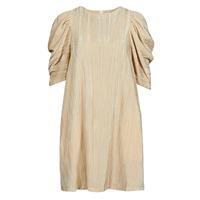 Kleidung Damen Kurze Kleider Moony Mood  Beige