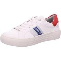 Schuhe Damen Sneaker Dockers by Gerli 42BM233-610-509 weiß