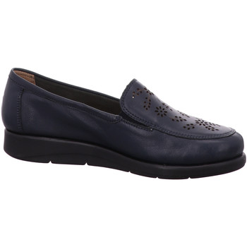 Schuhe Damen Slipper Caprice Slipper 24550 855 blau