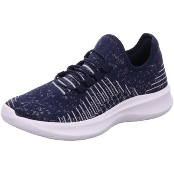 Schuhe Damen Sneaker Low Scandi Sportschuhe 230-0055-T1 navy blau