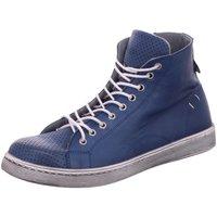 Schuhe Damen Stiefel Scandi Stiefeletten 2217 blau