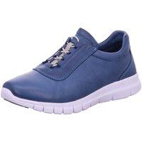 Schuhe Damen Sneaker Low Andrea Conti Schnuerschuhe 1709608-274 jeans blau
