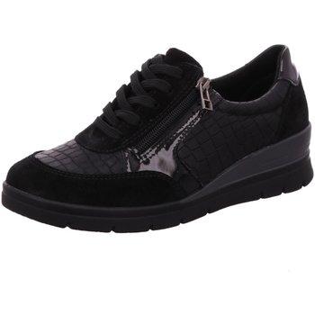 Schuhe Damen Sneaker Low Aco Schnuerschuhe LUNA 08 860/9198 schwarz