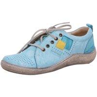 Schuhe Damen Sneaker Low Kacper Schnuerschuhe 2-2880 869+889+740 blau
