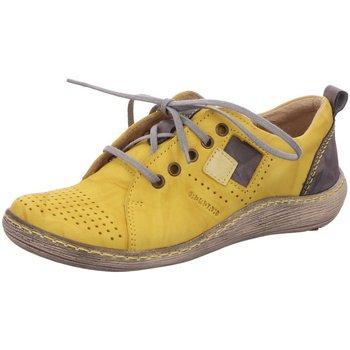 Schuhe Damen Sneaker Low Kacper Schnuerschuhe 2-2880 740+831+890 gelb
