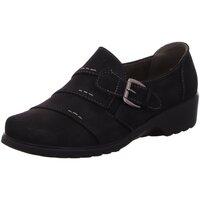 Schuhe Damen Slipper Scandi Slipper 225-0114-C1 schwarz