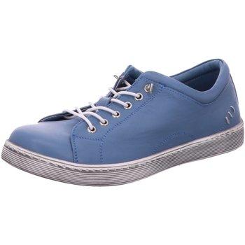 Schuhe Damen Derby-Schuhe & Richelieu Scandi Schnuerschuhe 2220 blau