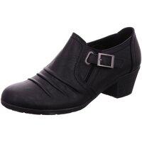 Schuhe Damen Slipper Scandi Slipper 225-0115-A1 schwarz