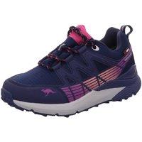 Schuhe Mädchen Sneaker Low Kangaroos Schnuerschuhe K-TRUN LOW RTX 81106-4204 blau