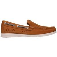Schuhe Herren Slipper Dj Santa 2997 Hombre Cuero marron