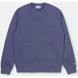 Kleidung Herren Pullover Carhartt Carhartt WIP Chase Sweat - Viola / Gold 534